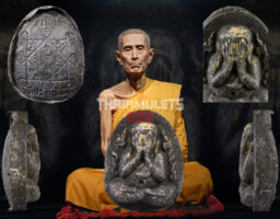 #T164 – LP Toh Wat Pradoochimplee – Phra Pidta Kanok Kang (火焰必打)