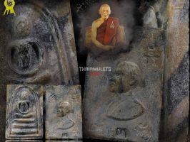 #R033 – LP Pae Wat Pikulthong – Phra Somdej Pae Sam (3) Pan Laiseur Hand Mould