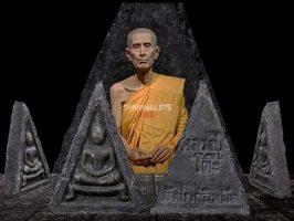 #T202 – LP Toh Wat Pradoochimplee – Phra Somdej Pim 3 Liam Kha Toh (崇迪佛三角形模)