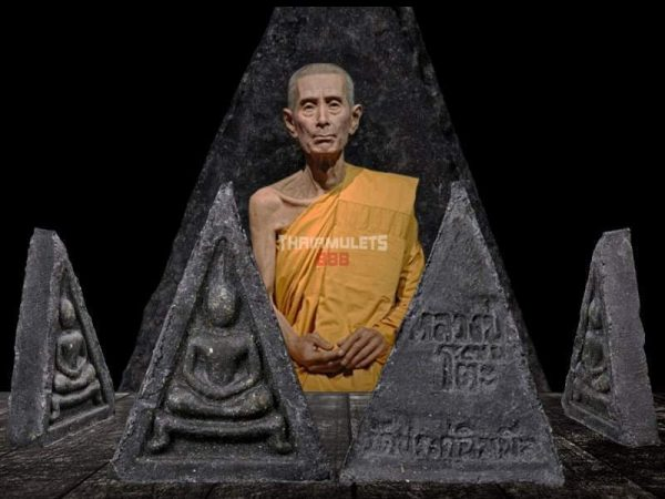 Phra Somdej Pim 3 Liam Kha Toh (崇迪佛三角形模)