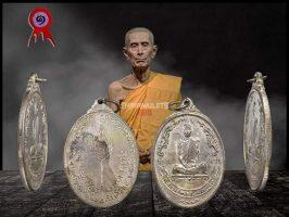#T613 – LP Toh Wat Pradoochimplee – Rian Roopkai ( 椭圆形) Lang Pat Yod 2518