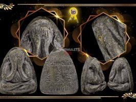 #T305 – LP Toh Wat Pradoochimplee – Phra Pidta Na Ta Na (必打那他哪) Nuer Bailan With 1 Silver Takrut 1 Gold Takrut (经书版,1银1金符管)