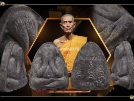 #T230 – LP Toh Wat Pradoochimplee – Phra Pidta Na Ta Na (必打那他哪)