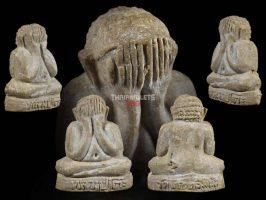 #T699 – LP Toh Wat Pradoochimplee – Phra Pidta Tookata Lek (娃娃必达佛小模)