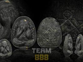 #T1023 – LP Toh Wat Pradoochimplee – Phra Pidta Kanok Kang (火焰必打)