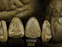 "#T1036 – LP Toh Wat Pradoochimplee – Phra Pidta PlodNee Lang Yant Na Mahasetthee (必打无负载背后""印那""经文)"