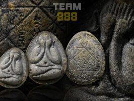 #T592 – LP Toh Wat Pradoochimplee – Phra Pidta Lang Tao (必打龟背 )