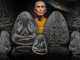 #T819 – LP Toh Wat Pradoochimplee – Phra Pidta PlodNee Lang Yant Na