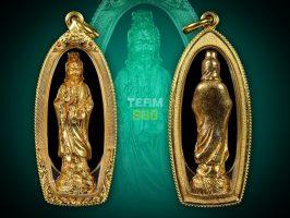 #T1000 – LP Toh Wat Pradoochimplee – Rooplor Chao Mae Guan Yim (Small Phim) 观音小立樽