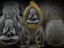 #T731 – LP Toh Wat Pradoochimplee – Phra Pidta Kanok Kang (火焰必打)