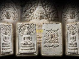 #T1129 – LP Toh Wat Pradoochimplee – Phra Somdej Prokpho Lang Kaosan Dum (黑米 崇迪佛)